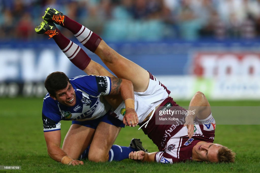 NRL Rd 5 - Bulldogs v Sea Eagles : News Photo
