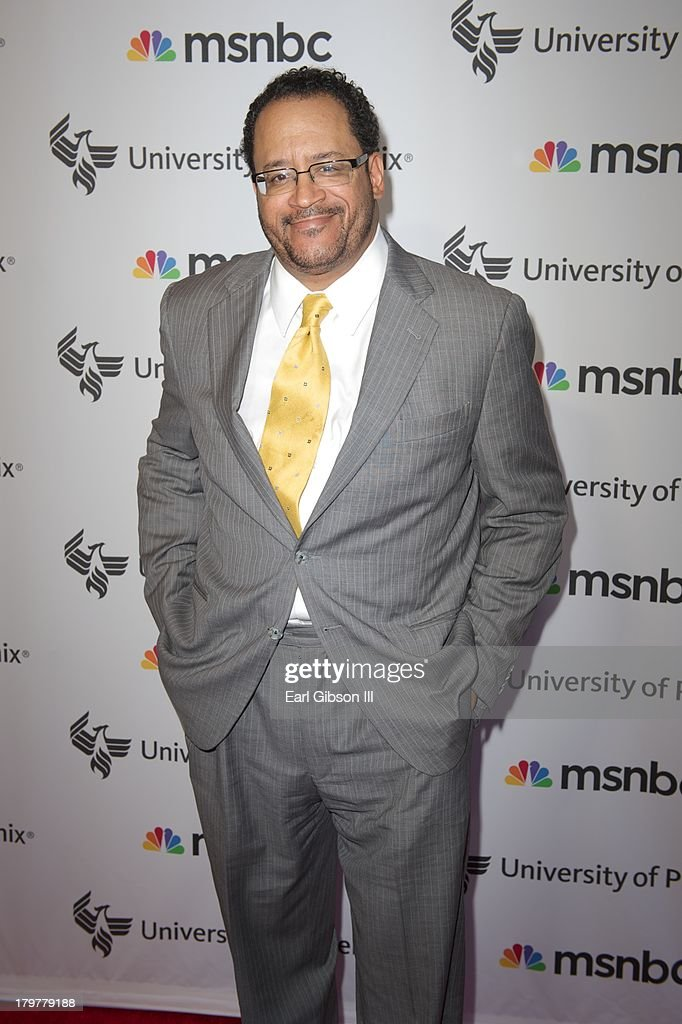 Michael Eric Dyson attends 'Advancing The Dream' live at The Apollo Theater on September 6, 2013 in New York City.