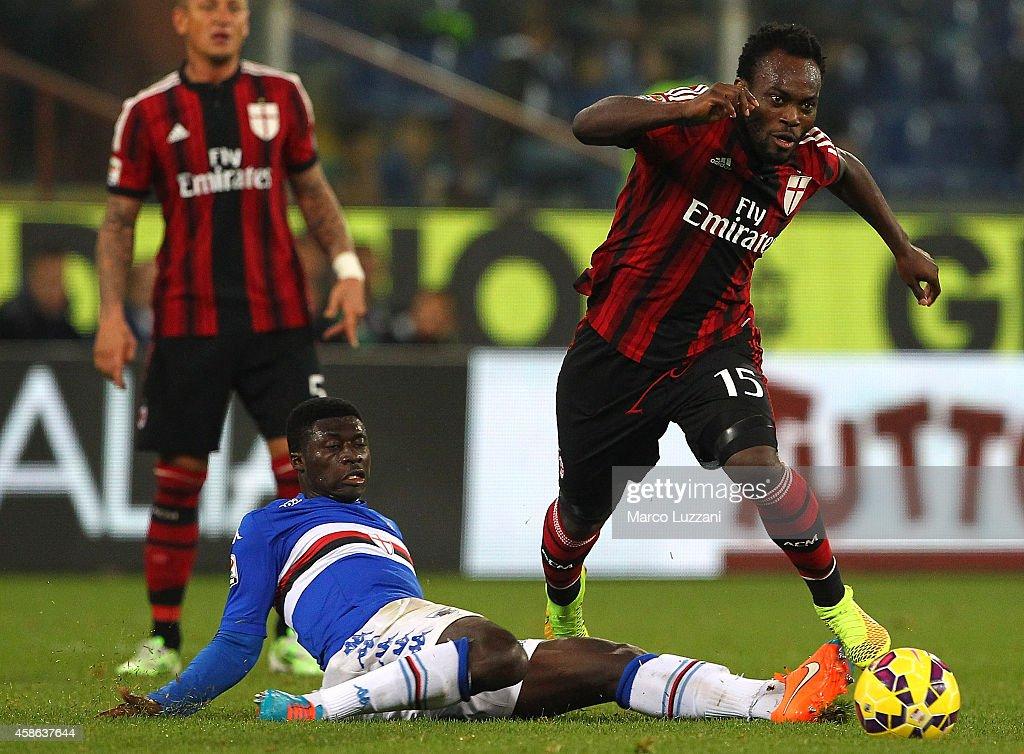 UC Sampdoria v AC Milan - Serie A : News Photo