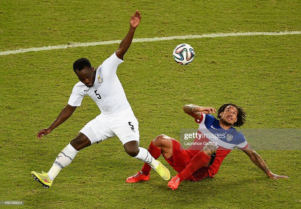 Ghana v USA: Group G - 2014 FIFA World Cup Brazil : News Photo