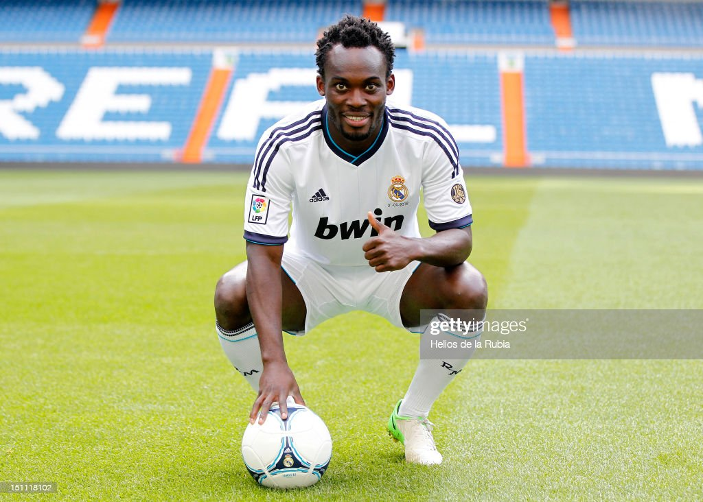 Michael Essien - Real Madrid Medical & Press Conference