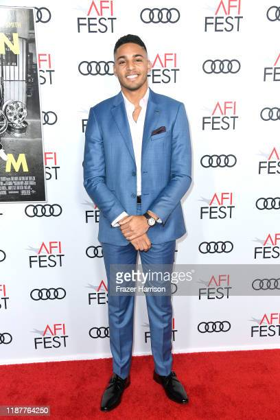 """Michael Evans Behling attends the """"Queen & Slim"""" Premiere at AFI FEST 2019 presented by Audi at the TCL Chinese Theatre on November 14, 2019 in..."""
