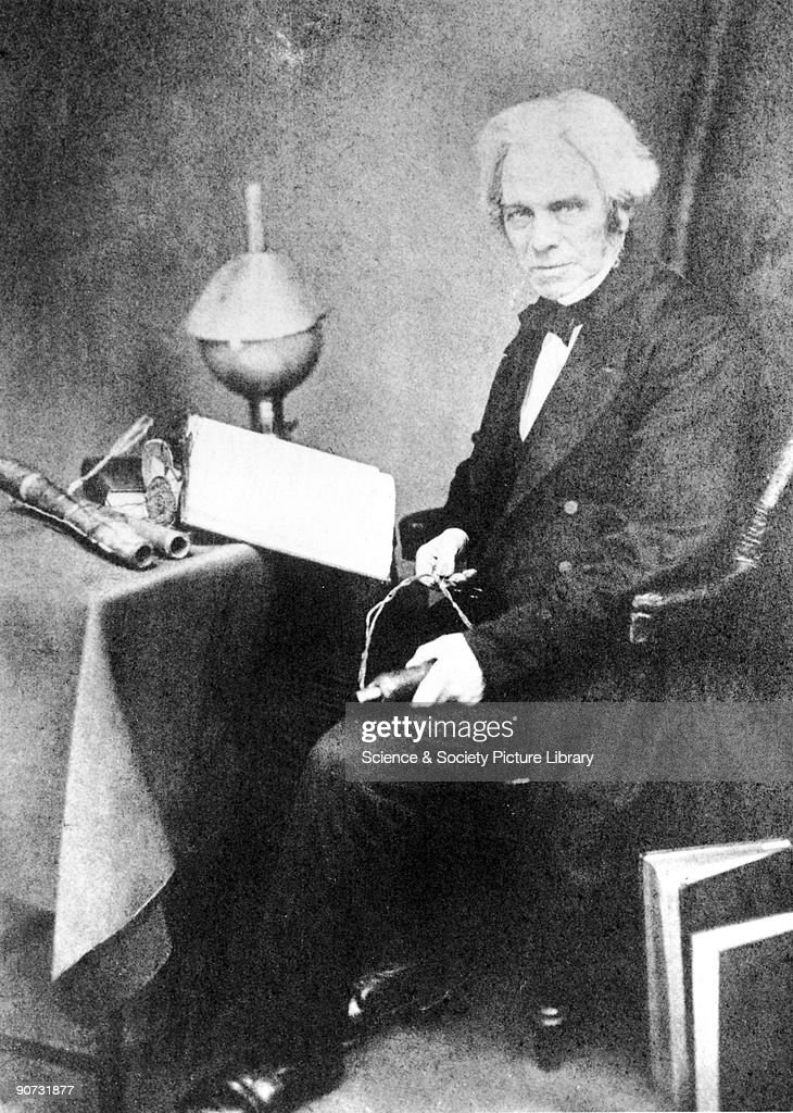 electric motor michael faraday. Michael Faraday (1791-1867) Discovered The Principles Of Electric Motor And Dynamo