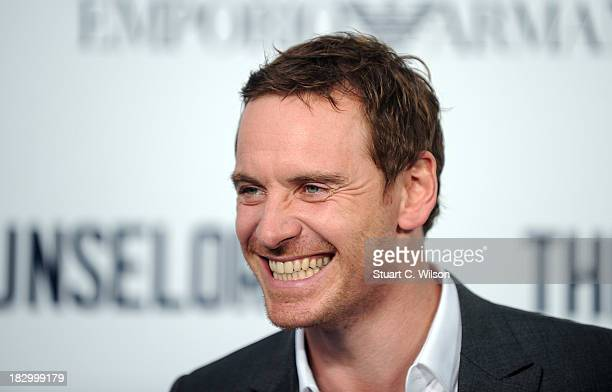 """Michael Fassbender attends a special screening of """"The Counselor"""" at Odeon West End on October 3, 2013 in London, England."""