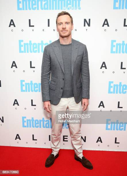 Michael Fassbender attends 'Alien Covenant' Special Screening at Entertainment Weekly on May 15 2017 in New York City