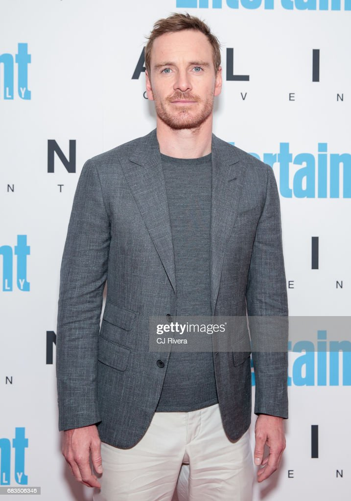 Michael Fassbender attends the 'Alien Covenant' special screening at Entertainment Weekly on May 15, 2017 in New York City.