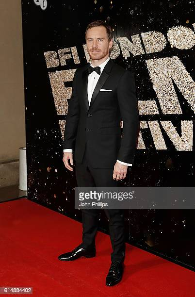 Michael Fassbender attends the BFI London Film Festival Awards during the 60th BFI London Film Festival at Banqueting House on October 15 2016 in...