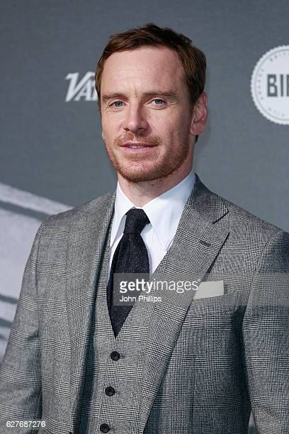 Michael Fassbender attends The British Independent Film Awards at Old Billingsgate Market on December 4 2016 in London England