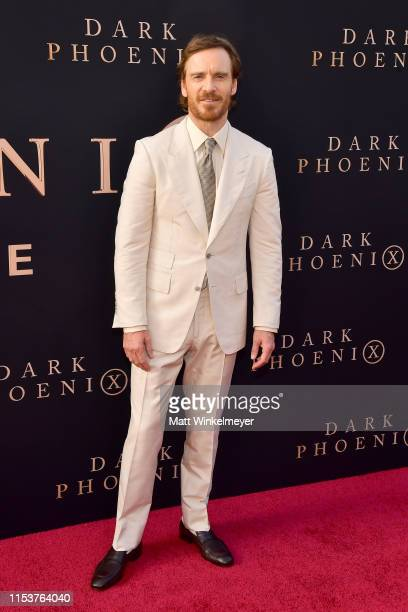 Michael Fassbender attends the premiere of 20th Century Fox's Dark Phoenix at TCL Chinese Theatre on June 04 2019 in Hollywood California