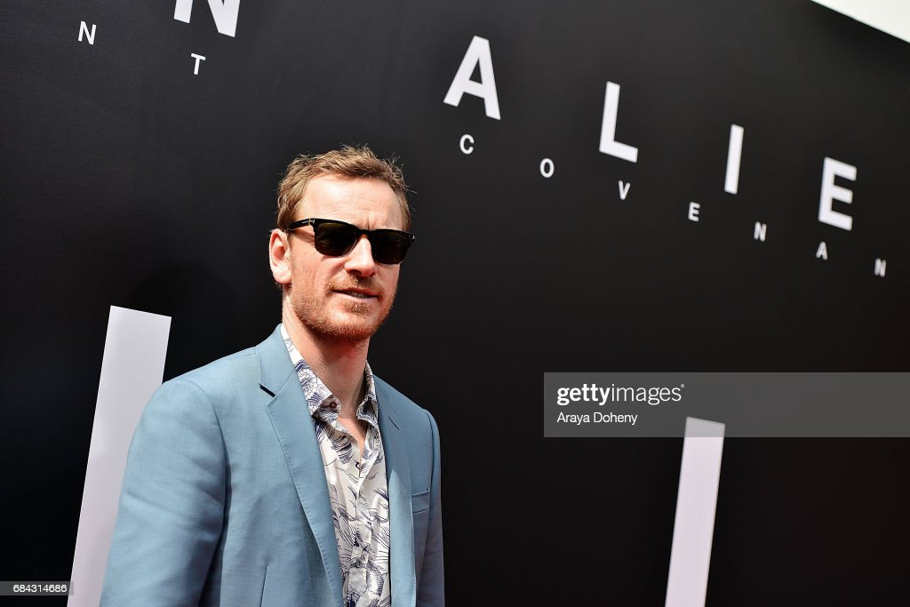 Michael Fassbender attends the Sir Ridley Scott Hand and Footprint Ceremony at TCL Chinese Theatre IMAX on May 17, 2017 in Hollywood, California.