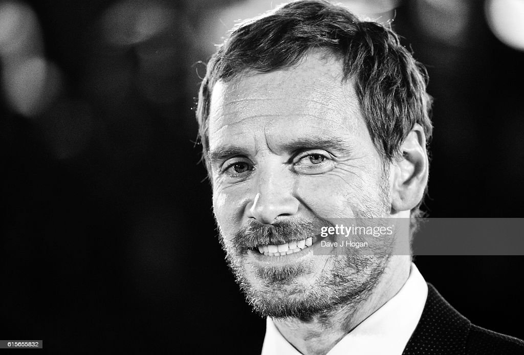 Michael Fassbender attends the UK Premiere of 'The Light Between Oceans' at The Curzon Mayfair on October 19, 2016 in London, England.