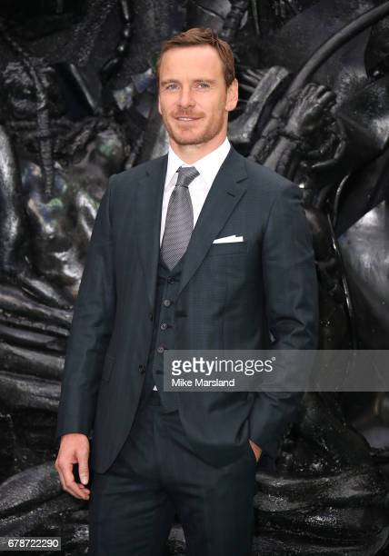 Michael Fassbender attends the World Premiere of 'Alien Covenant' at Odeon Leicester Square on May 4 2017 in London England