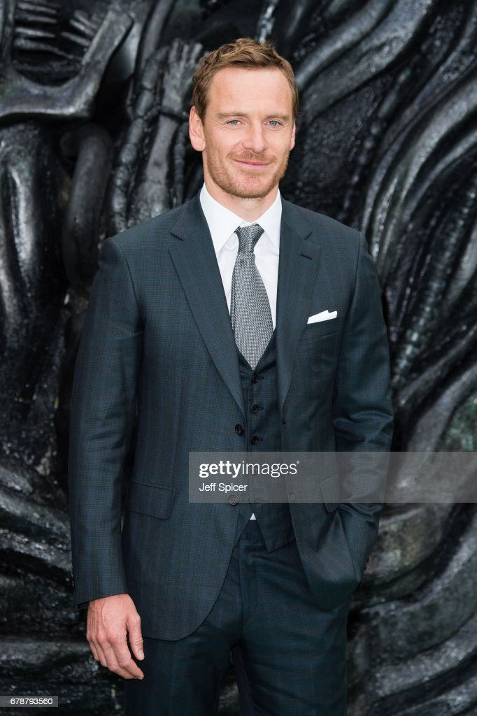 Michael Fassbender attends the World Premiere of 'Alien: Covenant' at Odeon Leicester Square on May 4, 2017 in London, England.