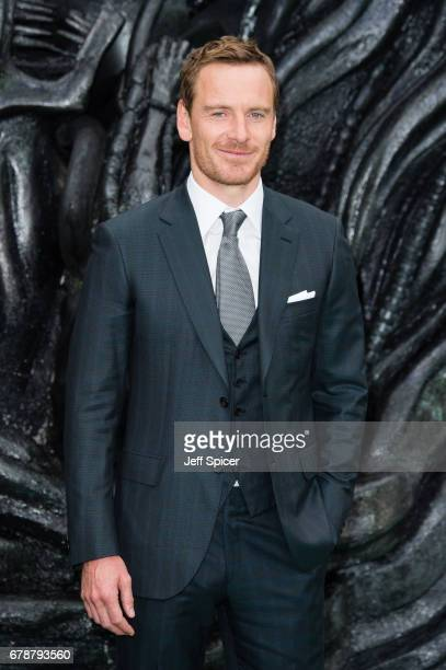 Michael Fassbender attends the World Premiere of Alien Covenant at Odeon Leicester Square on May 4 2017 in London England