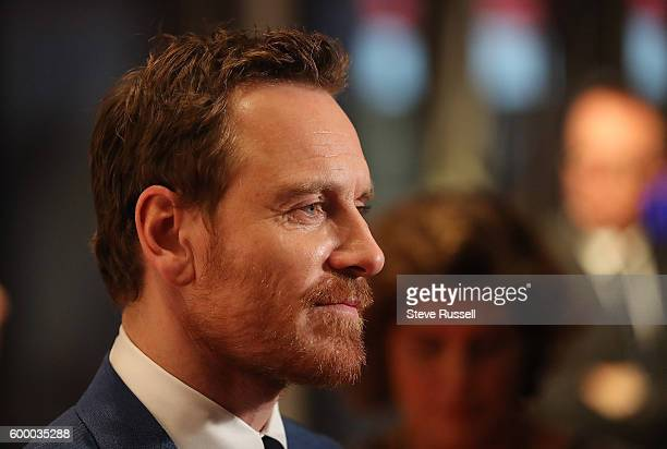 Michael Fassbender on the red carpet the at the annual Toronto International Film Festival Soiree fundraiser at the TIFF Bell Lighthouse in Toronto....