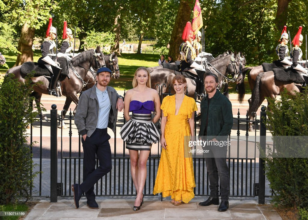 GBR: X-Men: Dark Phoenix London Photocall