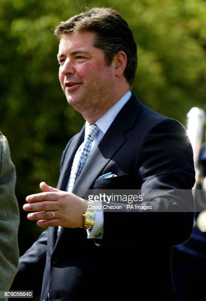 Michael Fawcett during a garden party at the Palace of Holyrood house in Edinburgh The Prince of Wales was hosting the garden party for around 300...