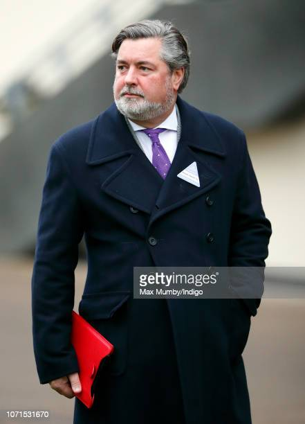 Michael Fawcett former valet to Prince Charles and current Chief Executive of the Prince's Foundation attends The Prince's Countryside Fund Raceday...