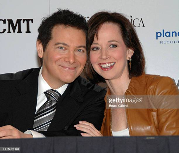 Michael Feinstein and Susan Powell, Former Miss America 1981