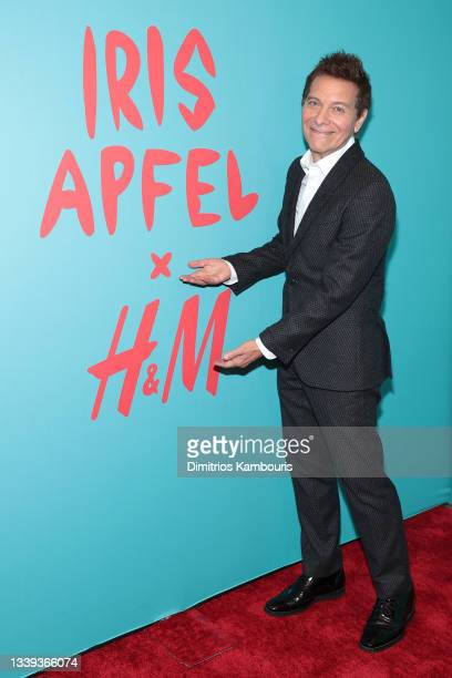 Michael Feinstein attends Iris Apfel's 100th Birthday Party at Central Park Tower on September 09, 2021 in New York City.