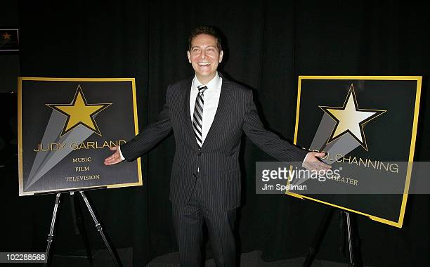 Michael Feinstein attends the Broadway Walk of Stars launch at the NASDAQ Building on June 21, 2010 in New York City.