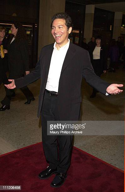 """Michael Feinstein. During A&E and RKO Pictures Benefit Screening of Telefilm """"The Mangnificent Ambersons"""" at Lowes Cineplex Odeon Theatre in Beverly..."""