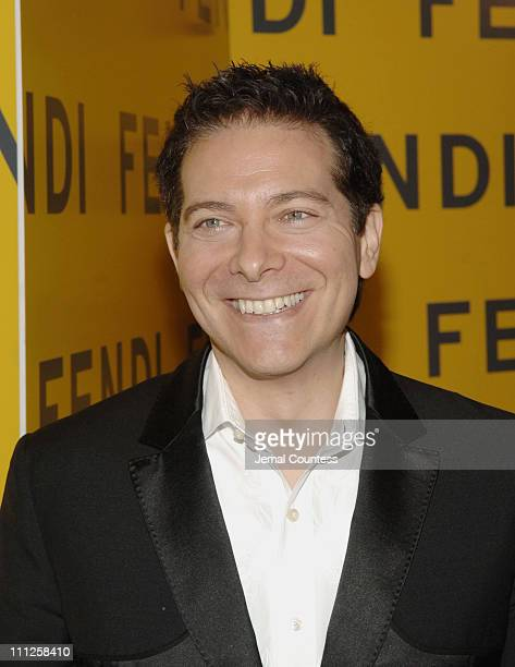 """Michael Feinstein during Fendi Presents """"The All Hollows Eve Party"""" at 25 Broadway in New York City, New York, United States."""