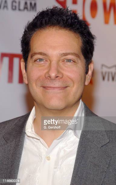 """Michael Feinstein during """"Liza With A 'Z'"""" DVD Release Party in New York City at Ziegfeld Theatre in New York, New York, United States."""