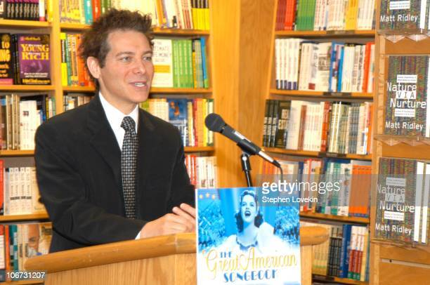 """Michael Feinstein during Michael Feinstein In-Store Appearance for the New DVD """"The Great American Songbook"""" at Borders Bookstore in New York City,..."""