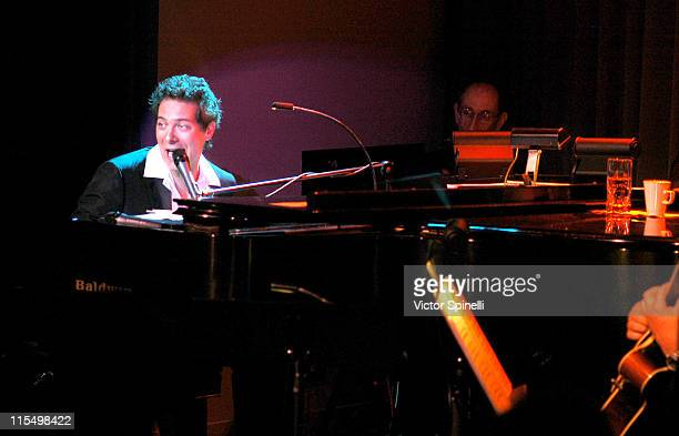Michael Feinstein during Michael Feinstein Performs at Feinstein's at the Cinegrill July 22, 2003 at Feinstein's at the Cinegrill in Hollywood,...