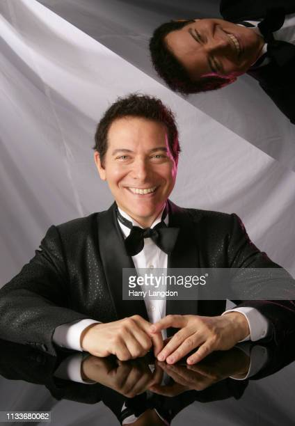 Michael Feinstein poses for a portrait in Los Angeles, California.