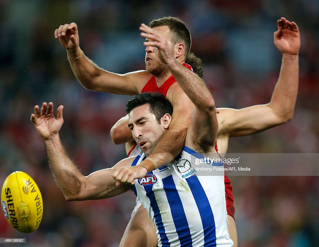 AFL 1st Semi Final - Sydney v North Melbourne