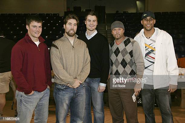 Michael Fisher RA Dickey Tim Dillard Tim McGraw and David Price attend the Life Lessons from Baseball fundraiser at the Allen Arena at Lipscomb...