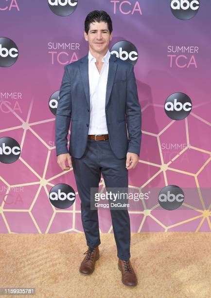 Michael Fishman arrives at ABC's TCA Summer Press Tour Carpet Event on August 5 2019 in West Hollywood California