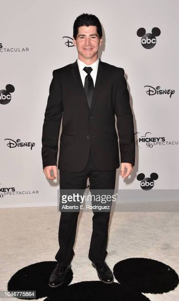 Michael Fishman attends Mickey's 90th Spectacular at The Shrine Auditorium on October 6 2018 in Los Angeles California