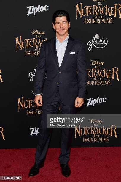 Michael Fishman attends the pemiere of Disney's The Nutcracker and The Four Realms on October 29 2018 in Hollywood California