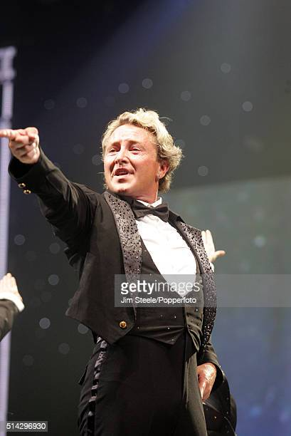 Michael Flatley and his Lord Of The Dance company perform his latest dance and theatrical spectacular 'Celtic Tiger' about the history of the Irish...