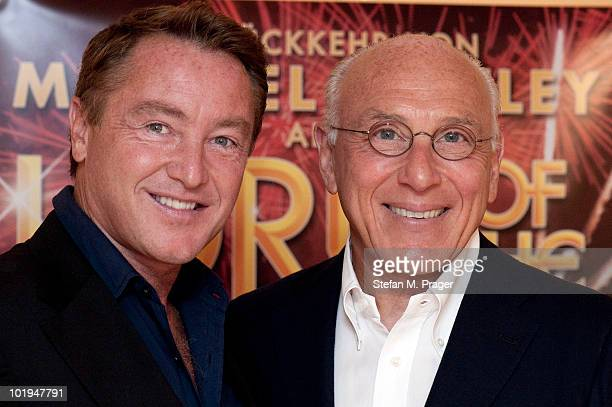 Michael Flatley and Marek Lieberberg presents the Lord Of The Dance Tour to the press on June 10 2010 in Munich Germany