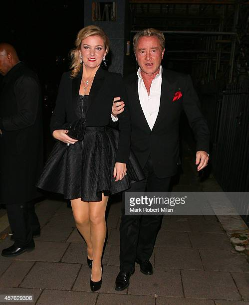 Michael Flatley at Annabel's club The show 'Lord Of The Dance Dangerous Games' finishes up its run at the London Palladium this Saturday before...