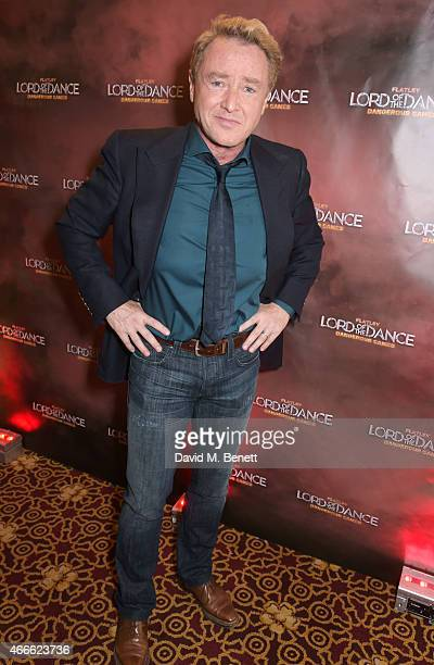 Michael Flatley attends the after party following the Gala Performance of Lord Of The Dance Dangerous Games at The Dominion Theatre on March 17 2015...