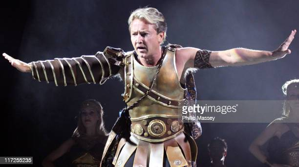Michael Flatley during Celtic Tiger Dublin Performance with Michael Flatley April 20 2006 at The Point in Dublin Ireland