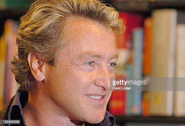 Michael Flatley during Michael Flatley Signs his Book Lord of the Dance at Waterstones Harrods April 4 2006 at Waterstones Harrods in London Great...