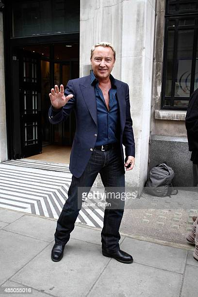 Michael Flatley is seen arriving at the BBC Radio Two Studios on March 10 2011 in London United Kingdom