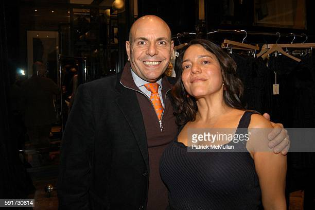 Michael Flutie and Olga Liriano attend Steven Sebring and Patti Smith celebrate the DAP publication of BYGONE DAYS 19071957 Photographs by John Penor...