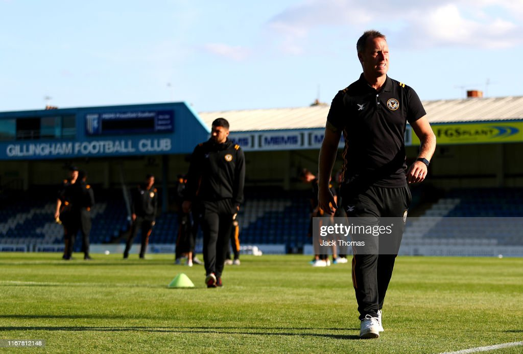 Gillingham v Newport County - Carabao Cup First Round : News Photo