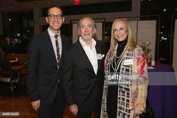 Michael Foote Peter Hollander and Stephanie Fein attend NYU Steinhardt Music and Performing Arts Presents Songwriters Hall of Fame Master Sessions @...