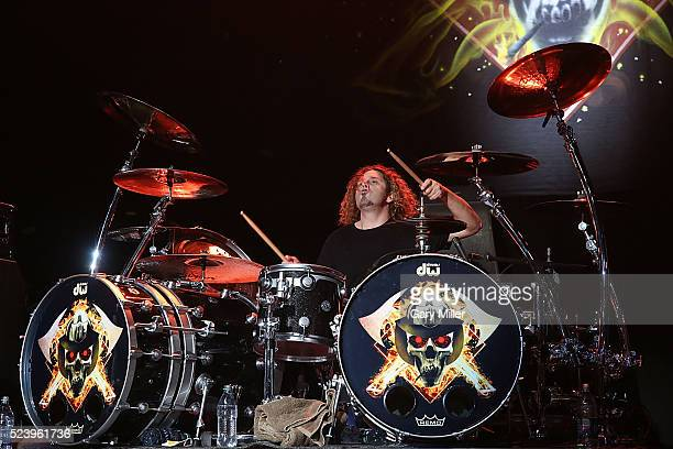 Michael Foster of FireHouse performs in concert at the Cedar Park Center on April 24 2016 in Cedar Park Texas
