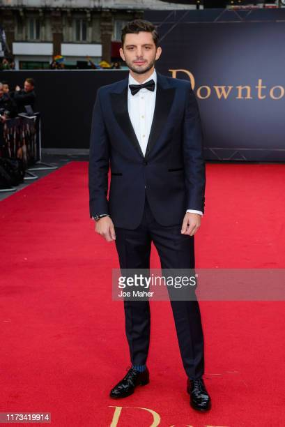 "Michael Fox attends the ""Downton Abbey"" World Premiere at Cineworld Leicester Square on September 09, 2019 in London, England."