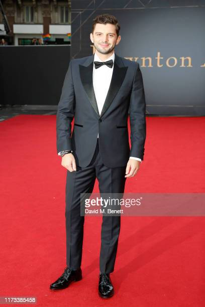 """Michael Fox attends the World Premiere of """"Downton Abbey"""" at Cineworld Leicester Square on September 09, 2019 in London, England."""