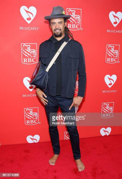 Michael Franti attends 13th Annual Musicares MAP Fund Benefit Concert Honoring Adam Clayton at PlayStation Theater on June 26 2017 in New York City
